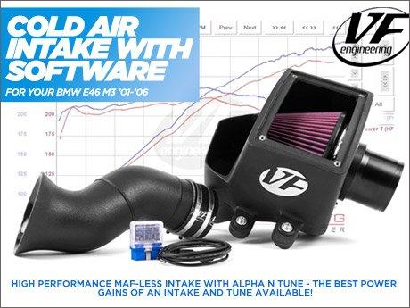 ECS News - BMW E46 M3 VF Cold Air Intake System