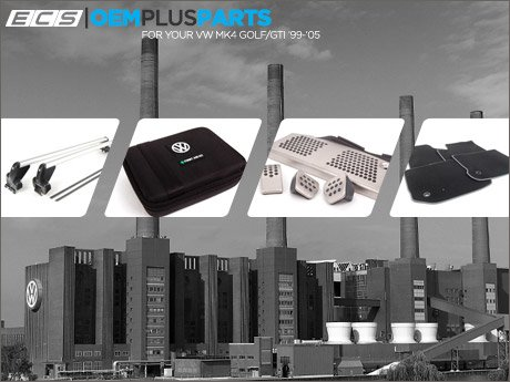 Ecs News Oem Plus Parts For Your Vw Mk4 Golf Gti Page 1