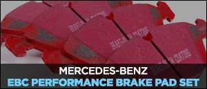 EBC Brake Pads for your Mercedes-Benz W211 E500