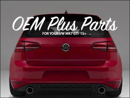 Ecs News Vw Mk7 Gti Oem Plus Parts