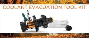 Schwaben Coolant Evacuation Tool Kit