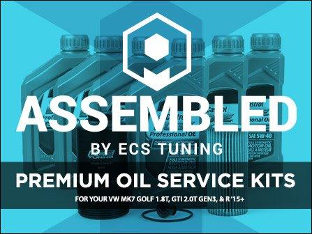 ECS News - Premium Oil Service Kits   VW MK7 GTI/Golf/R