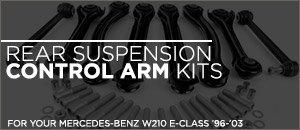 Rear Suspension Control Arm Kit | Mercedes-Benz W210