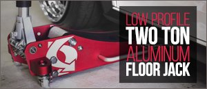 Schwaben Low Profile 2 Ton Aluminum Floor Jack