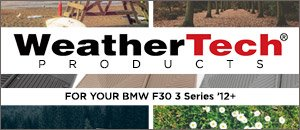BMW F30 3 Series WeatherTech® Products