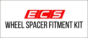 ECS Wheel Spacer Fitment Kit