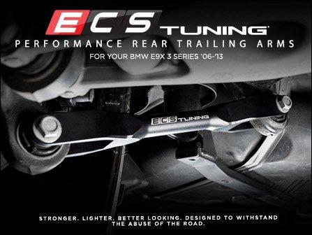 ECS News - BMW E9X ECS Performance Rear Trailing Arms