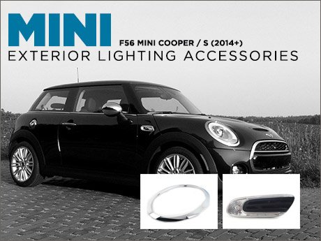 Ecs news f56 mini cooper exterior lighting accessories Mini cooper exterior accessories