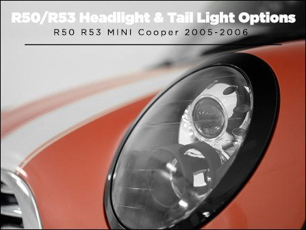 Ecs News R50 R53 Mini Cooper Headlights Amp Tail Lights