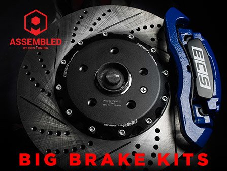 ECS News - ECS Assembled Big Brake Kits   VW MK7 Golf/GTI