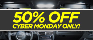 50% OFF CYBER MONDAY ONLY! Audi Ziza Master LED Kits