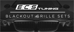 BMW E90 3 Series ECS Blackout Grilles