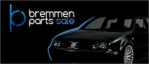 Bremmen Parts Sale for your VW MK4 Golf/GTI/337/20th