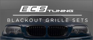BMW E46 M3 ECS Blackout Grilles