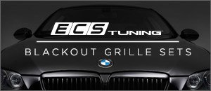 BMW E92/93 3 Series ECS Blackout Grilles