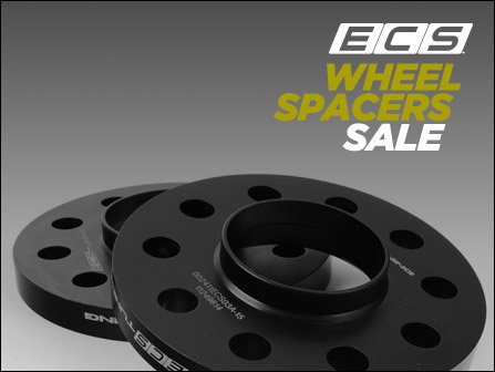Ecs news ecs wheel spacers mercedes benz r230 sl class for Wheel spacers for mercedes benz