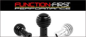 Function-First Slotted Shift Knob | Porsche 986 & 996