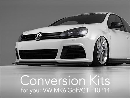 ECS News - Golf R Conversion Kits for your VW MK6 Golf/GTI