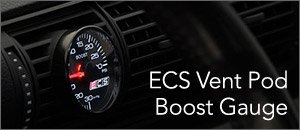Audi B5 A4 1.8T ECS Tuning Vent Pod Boost Gauge Kit