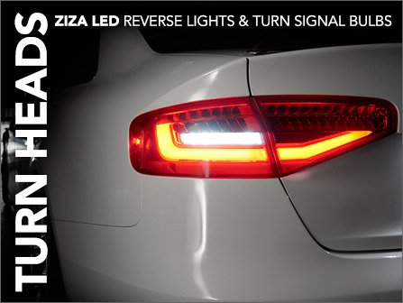 ecs news audi b8 s5 ziza led reverse light turn signal. Black Bedroom Furniture Sets. Home Design Ideas