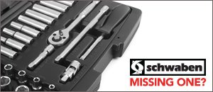 "Schwaben 26 Piece 1/4"" Drive Metric Socket Set"