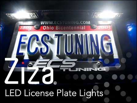 ECS Tuning :: Ziza LED License Plate Lights for 955/957