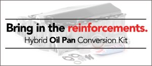 Hybrid Oil Pan Conversion Kits   VW MK4 1.8T