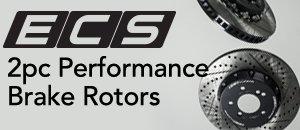 ECS Tuning 2pc Brake Rotors | Porsche 997 S Models