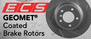 ECS GEOMET Coated Brake Rotors for your MKI TT 180HP