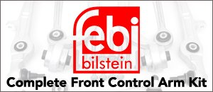 Febi Complete Front Control Arm Kit | Audi B7 A4 2.0T