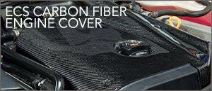 ECS Carbon Fiber Engine Cover   Audi B5 A4 1.8T