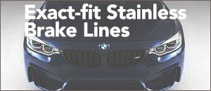 BMW F8X M3  M4 Exact-fit Brake Lines