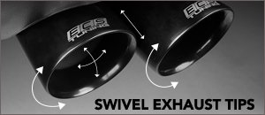 ECS Swivel Exhaust Tips for your BMW