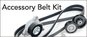 Mercedes-Benz W204 C-Class Accessory Belt Kit
