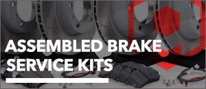 Porsche 996 C2/C4 Assembled Brake Service Kits