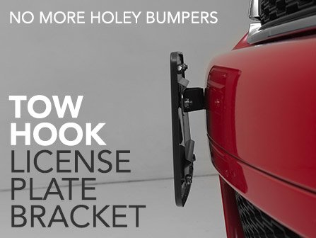Tow Hook License Plate Bracket Kits For Your MINI & ECS News - Tow Hook License Plate Bracket Kits For Your MINI