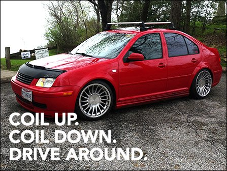 Ecs News Coilovers For Your Vw Mk4 Jetta
