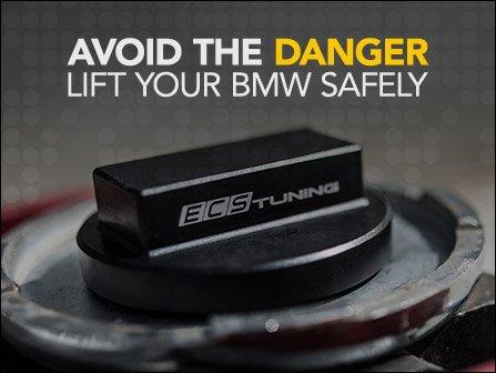 ECS News - BMW E70 X5 Aluminum Jack Pad Adapters