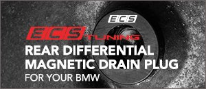 Rear Differential Magnetic Oil Drain Plug From ECS