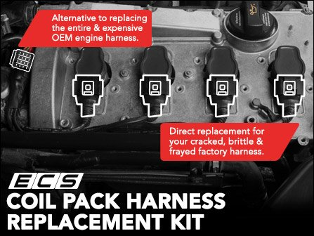 ECS News - Audi B6 A4 1.8T - ECS Coil Pack Harness ... Audi A B Coil Pack Wiring Harness on audi a4 ignition, audi a4 clutch master cylinder, audi a4 timing chain, audi a4 license plate holder, audi a4 blow off valve, audi a4 relay, audi a4 bug deflector, audi a4 door sill, audi a4 sway bar, audi a4 oil drain plug, audi a4 sensors, audi a4 fuel pressure regulator, audi a4 fuse panel, audi a4 torque converter, audi a4 transfer case, audi a4 door handle, audi a4 rear speakers, audi a4 wiper arms, audi a4 computer, audi a4 audio upgrade,