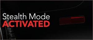 Audi B7 RS4 Gunsmoke Rear Bumper Reflector Film
