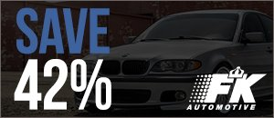 FK Streetline X Coilovers for your BMW E46 3 Series