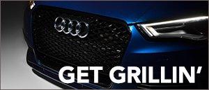 Audi 8V A3/S3 ECS RS Style Mesh Grilles