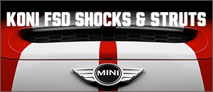 R55-R59 MINI Cooper KONI FSD Shocks  Struts