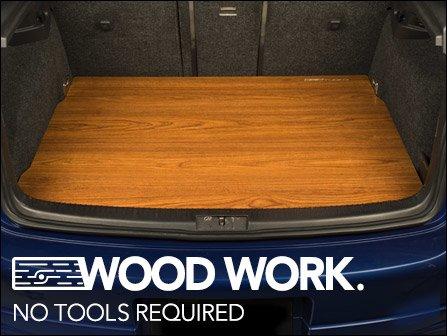 Vw Mk5 Wood Trunk Floors By Ecs Tuning