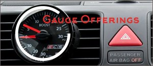 VW MK5 GTI Gauge Options