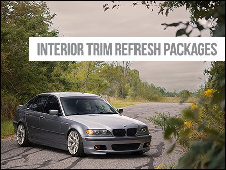 Ecs News Bmw E46 Sedan And Touring Interior Trim Refresh Kits