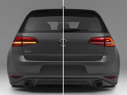 ecs news - led tail light harness for vw mk7 golf vw mk6 golf r tail light wiring diagram