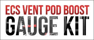 Audi B5 S4 - ECS Vent Pod Boost Gauge Kit