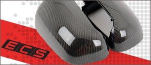 Audi C5 A6 2.7T ECS Carbon Fiber Mirror Caps
